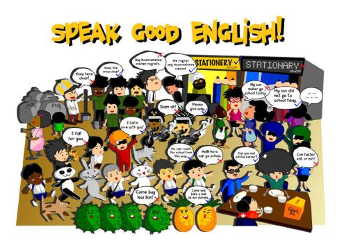 Speak Good English by Drag-az