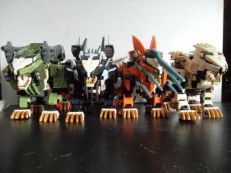 Liger Zero Armors by DuoofDeath1