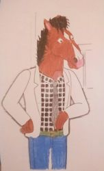 Bojack In The 80s by narwhalpuppy