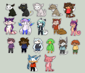 Chibi Requests Stream batch by theIcecolo