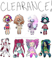 Xynthii and Aries Clearance adopts // closed by Tenshilove