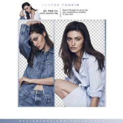 PNG 108 . PHOEBE TONKIN by SOULS-PNGS