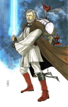 Nomad Obi-Wan Kenobi by Hodges-Art