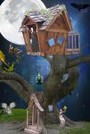 Neverland Treehouse by mtspacecreate