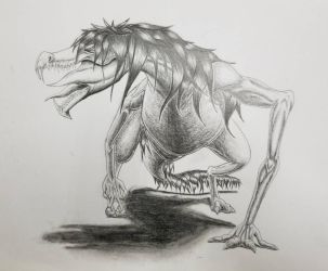 original creature by DR3WZILLA