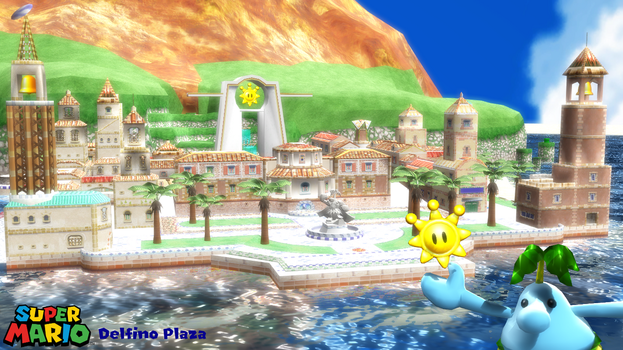 (MMD Stage) Delfino Plaza Download by SAB64