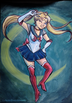 Sailor Moon by GalacticGraceArtwork