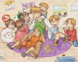 The English Family by gohe1090