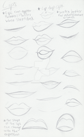 Lips and Mouths v.2 by MajesticReaper
