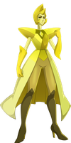 Yellow Diamond by sparks220stars