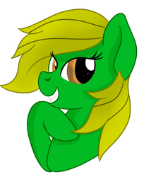 Jungle Heart headshot (Gift for OptimusV42) by RainbowTashie