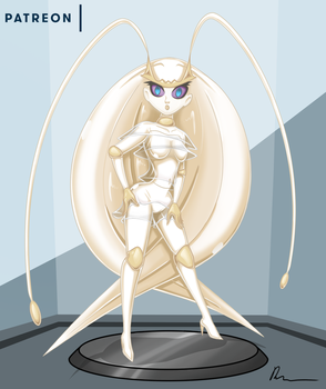 Commission - suit up Lusamine part 2 by Rosvo