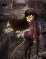Mabel being not so cute and all :T [Speedpaint] by SafirasArt