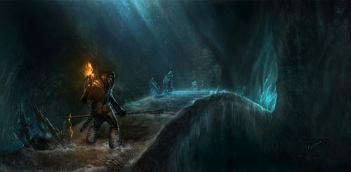 Arctic Caverns by 88grzes