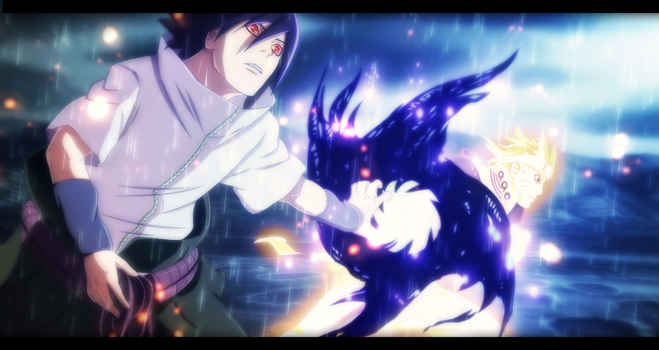 Naruto Manga 641 - Sasuke and Naruto Collab by NuclearAgent