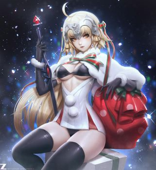 Jeanne dArc Alter Santa Final by Zeronis