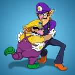 Wario wants a hug by Sekhmet17