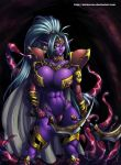 Comm Drowess Warrior by DarkerEve