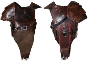 Orckish leather armor by Zapan99