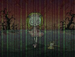 Wallpaper Lenore Matrix by DJ-MASDE