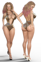 Swimsuit Opposites Contest by VyseDyne