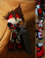Holy Order Sol Plush by sewcuteplushies