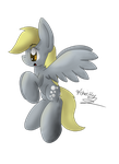 Derpy Flying by Fisherfly