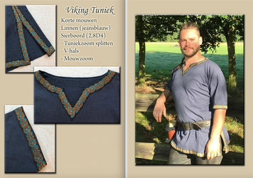 VIKING TUNIC DENIM by Alise-Art