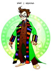 time lord english by Blue-Fox