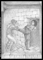The great escape: pencil version from Book I by middaschronicles