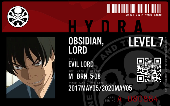 hydra agent obsidian lord by connorm1