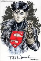 Young Justice Superboy by ToddNauck