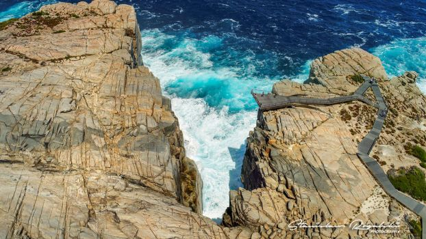 High above the Gap  Albany South Western Australia by StachRogalski