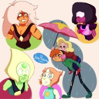 Steven universe doodles by LonePlanemo