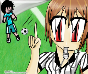 Soccer Referee by sango1fan