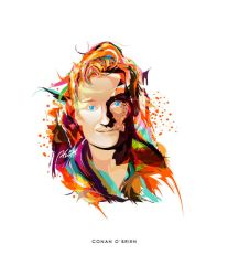 Conan O'Brien by phig