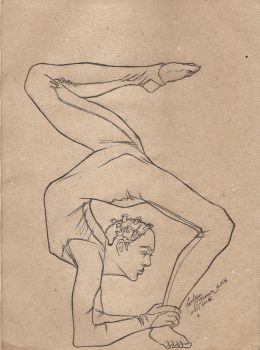 Contortion by Lovely-Bacar