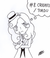 [Inktober 2017] 08 - Crooked Tordu by Nartance