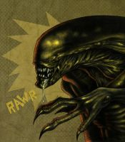 Alien-Colored by liliesformary