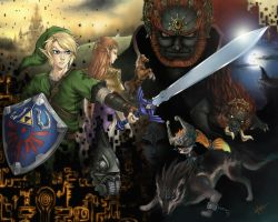 Twilight Princess by MoonlightStarfish