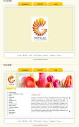 Gopalan - interface by pulsetemple