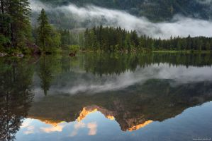 Reflection Mountain by Dave-Derbis