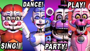 Funtime Animatronic FNaF 2 Poster by StarkKidd