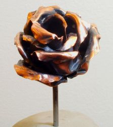 Copper rose by TheAluminumSurfer