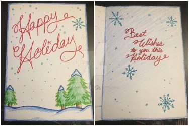 Holiday Card Project 2018 by AlwaysForeverHailey