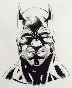 Batman | Inspired by Jason Fabok by LochyG32