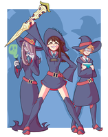 Little Witches by PearlyGlow