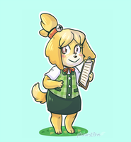 Isabelle by pkstarst0rm