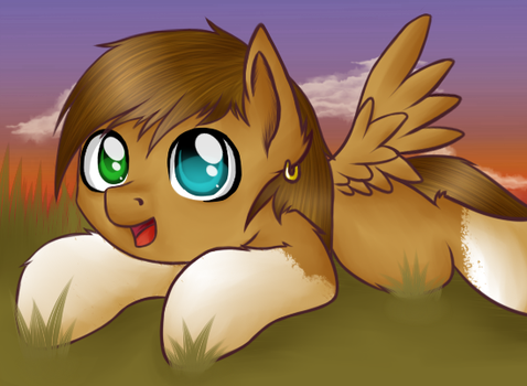 Filly Claud by DitzyHooves