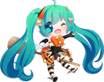 FREE Halloween Miku Pagedoll by rimuu